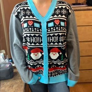 Funny Christmas sweater. Size large.